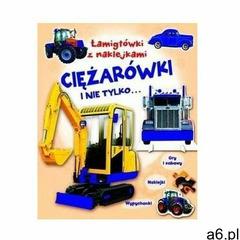 Łamigłówki z naklejkami Ciężarówki i nie tylko... - Praca zbiorowa (9788327468291) - ogłoszenia A6.pl