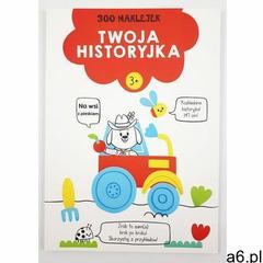 Yoyo books 300 naklejek 3+ twoja historyjka czerwona - książka - ogłoszenia A6.pl