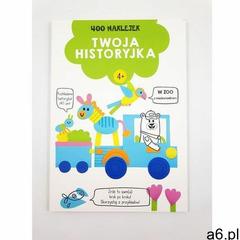 Yoyo books 400 naklejek 4+ twoja historyjka zielona - książka - ogłoszenia A6.pl
