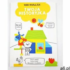 Yoyo books 400 naklejek 4+ twoja historyjka żółta - książka (9789463990820) - ogłoszenia A6.pl