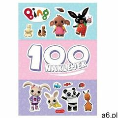 Bing. 100 naklejek. Książeczka z naklejkami (9788327670458) - ogłoszenia A6.pl