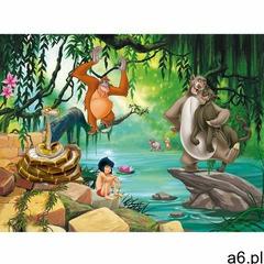 Fototapeta dziecięca XXL Księga dżungli 360 x 270 cm, 4 części - ogłoszenia A6.pl