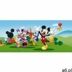 Fototapeta dziecięca Mickey Mouse i przyjaciele, 202 x 90 cm - ogłoszenia A6.pl