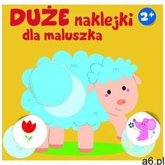 Yoyo books Duże naklejki dla maluszka - owieczka 2+ - praca zbiorowa - ogłoszenia A6.pl
