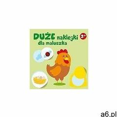Duże naklejki dla maluszka - kurka 2+ - praca zbiorowa marki Yoyo books - ogłoszenia A6.pl