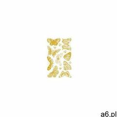 Naklejki papierowe pozłacane motyle - ogłoszenia A6.pl