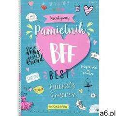 Books and fun Kreatywny pamiętnik bff (9788395274305) - ogłoszenia A6.pl