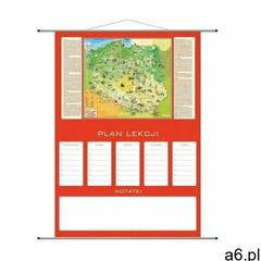 Artglob Plan lekcji - mapa polska młodego odkrywcy - ogłoszenia A6.pl