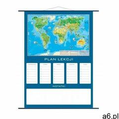 Plan lekcji - mapa Świat Młodego Odkrywcy - ogłoszenia A6.pl