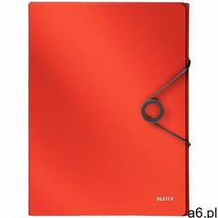 Teczka z gumką pp 30mm j.czerwona solid marki Leitz - ogłoszenia A6.pl
