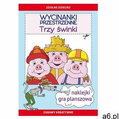 Literat Wycinanki przestrzenne. trzy świnki - ogłoszenia A6.pl