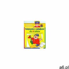 Ćwiczenia Z Myszką Tini Książeczka Z Naklejkami Dla 4-latków, 9788363686383 - ogłoszenia A6.pl