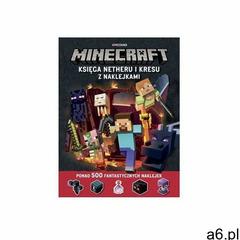 Egmont Minecraft księga netheru i kresu z naklejkami [milton stephanie] (9788328133082) - ogłoszenia A6.pl