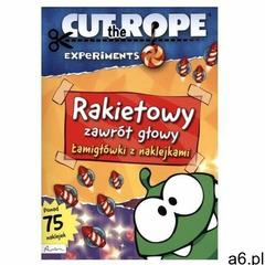 Cut the rope rakietowy zawrót głowy łamigłówki z naklejkami marki Publicat - ogłoszenia A6.pl