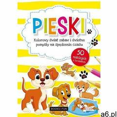 Pieski kolorowy świat zabaw i świetne pomysły na spędzenie czasu marki Books and fun - ogłoszenia A6.pl