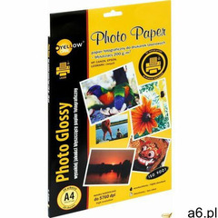 Yellow one Papier foto a4 200g a20szt błyszczący laser yellow (5903364238209) - ogłoszenia A6.pl