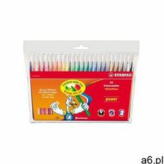 Flamastry STABILO Power op.24 kolorów - ogłoszenia A6.pl