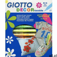 Giotto Pisaki decor textile 12 kolorów (8000825495106) - ogłoszenia A6.pl