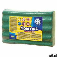 Modelina ASTRA 1kg. - zielona - ogłoszenia A6.pl