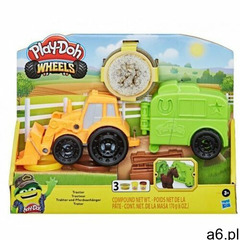 Ciastolina PlayDoh Wheels Traktor - ogłoszenia A6.pl