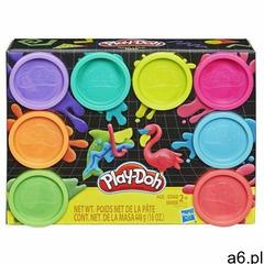 Hasbro Masa plastyczna play-doh 8-pak kolorów neon (5010993560189) - ogłoszenia A6.pl