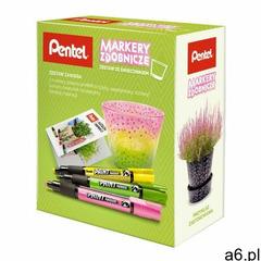 Zestaw PENTEL MMP20-GKP markery olejowe + świecznik + katalog inspiracji, MMP20-GKP - ogłoszenia A6.pl