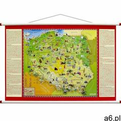 Artglob Mapa ścienna - polska młodego odkrywcy - ogłoszenia A6.pl