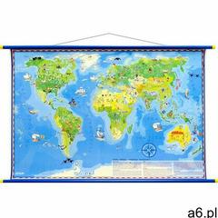 Artglob Mapa ścienna - świat młodego odkrywcy - ogłoszenia A6.pl