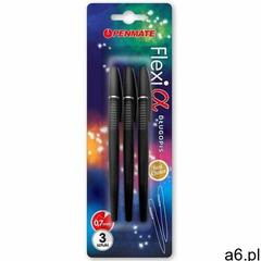 Penmate Długopis flexi alpha czarny 3szt (5906910824895) - ogłoszenia A6.pl
