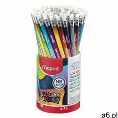 Maped ołówek szkolny z gumką trójkątny hb energy - ogłoszenia A6.pl