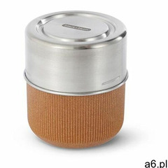 Szklany lunchbox 0.45 l almond marki Black+blum - ogłoszenia A6.pl