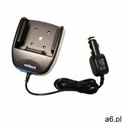 Uchwyt samochodowy wraz z zintegrowaną ładowarką i adapterem do zapalniczki samochodowej Unitech EA5 - ogłoszenia A6.pl