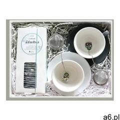Zestaw prezentowy z okazji ślubu wspólne chwile. zestaw 28 saszetek z herbatą w eleganckim dyspenser - ogłoszenia A6.pl