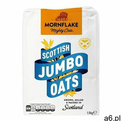 Mornflake pełnoziarniste płatki owsiane scottish jumbo oats 1,5 kg 1500 g - ogłoszenia A6.pl