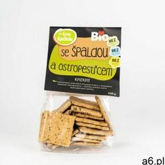 bio krakersy orkiszowe z ostem mlecznym 100 g marki Green apotheke - ogłoszenia A6.pl