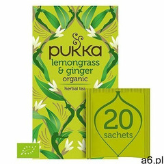 Pukka Lemongrass&Ginger Herbata Trawa cytrynowa i imbir 20szt - ogłoszenia A6.pl