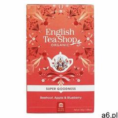 Herbata Beetroot, Apple & Blueberry – 20 saszetek - ogłoszenia A6.pl