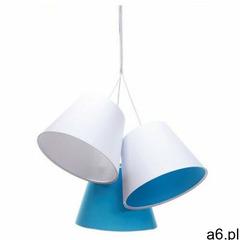 Biało-niebieska dziecięca lampa wisząca stożek - EXX72-Mirella, 070-093 - ogłoszenia A6.pl