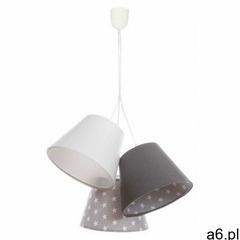 Welurowa lampa wisząca dla dzieci w gwiazdki - exx75-vosa marki Lumes - ogłoszenia A6.pl