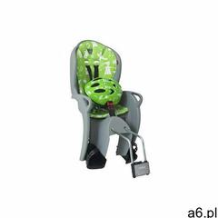 HAMAX Fotelik rowerowy Kiss set grey/green (7029775510890) - ogłoszenia A6.pl
