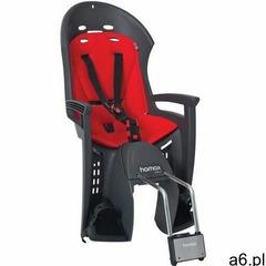 HAMAX fotelik rowerowy Smiley - Grey/Red, 305463 - ogłoszenia A6.pl