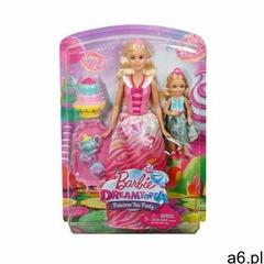Barbie Dreamtopia Słodki Podwieczorek zestaw dwóch lalek FDJ19, FDJ19 - ogłoszenia A6.pl