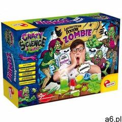 zestaw edukacyjny crazy science - laboratorium doktora zombie marki Lisciani - ogłoszenia A6.pl