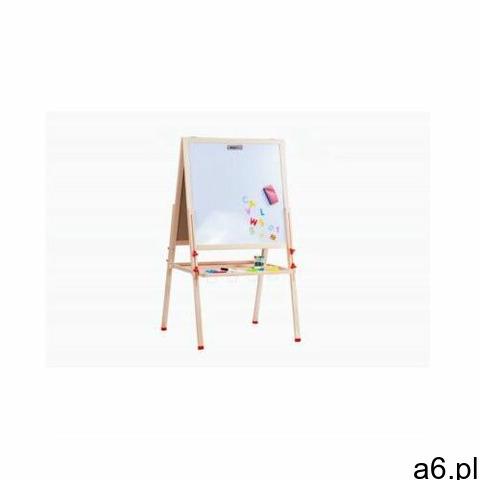 drewniana tablica wysoka z akcesoriami marki Malowany las - 1
