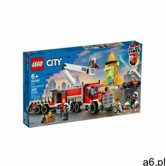 Lego klocki city 60282 strażacka jednostka dowodzenia + klocki city 60304 płyty drogowe - ogłoszenia A6.pl
