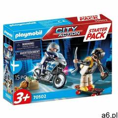 Zestaw figurek City Action 70502 Starter Pack Policja - ogłoszenia A6.pl