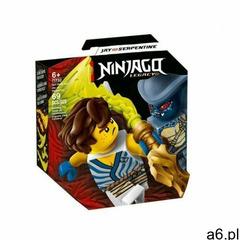 klocki ninjago 71732 epicki zestaw bojowy jay kontra wężon + klocki ninjago 71731 epicki zestaw  - ogłoszenia A6.pl