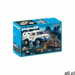 Playmobil Zestaw z figurkami City Action 9371 Transporter pieniędzy (4008789093714) - ogłoszenia A6.pl