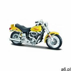 Hd 1977 fxs low rider 1/18 żółty marki Maisto - ogłoszenia A6.pl