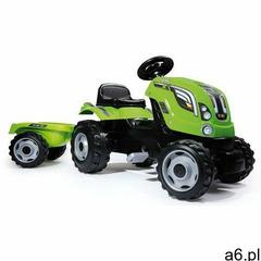 Smoby traktor na pedały farmer xl z przyczepą - zielony (3032167101112) - ogłoszenia A6.pl